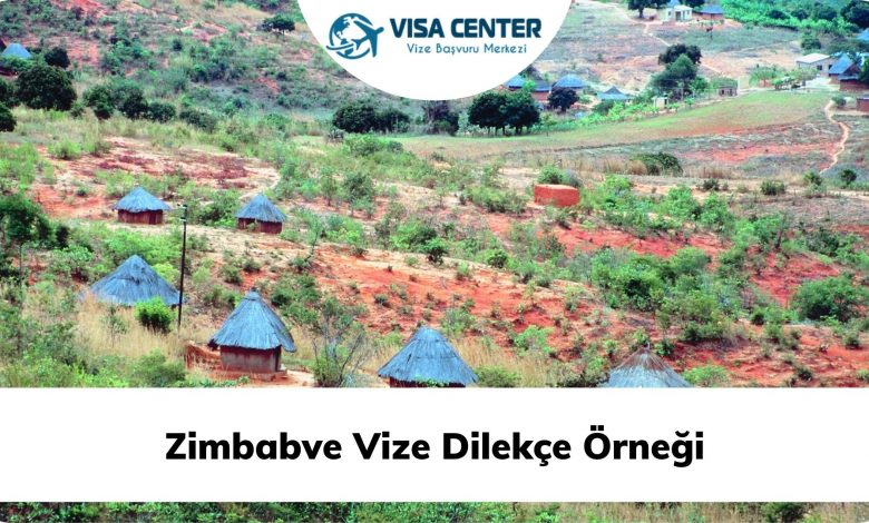 Zimbabve Vize Dilekçe Örneği